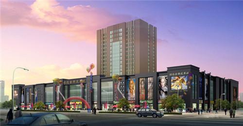 招远皮革城-空心楼盖芯模案例图集1